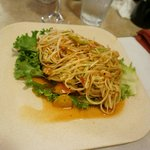 Som tham or papaya salad is very delicious