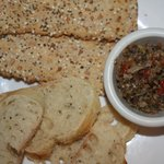 Fresh tapenade plate