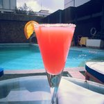Treat yourself to cocktails by the Pool