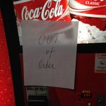 out of order vending machines