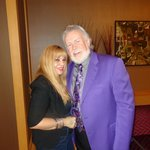With Tribute artist Kenny Rogers