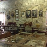 Interior shot of the Frontier Times Museum, Bandera TX