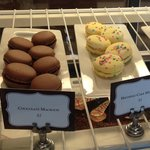Macarons, also available in the afternoon at the Carriage House