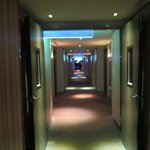 The corridor to the room