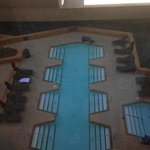 View of Pool area from our room