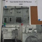 Photos of the guesthouse from the war