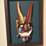 Picked my mask up from the framer today