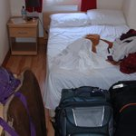 Tiny rooms (and this is a DOUBLE room, not single!)