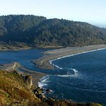 Klamath River from top of Requa Drive