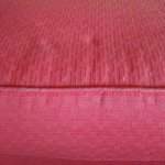 Worn upholstery