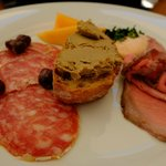 pate and salami photo by barb green ullman