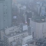 View of Shibuya from room