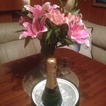 9-18-2014 From Calm , what a sweet gesture Cal! Loved the Lilly's and smell as gorgeous as they