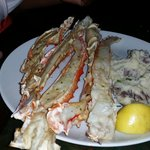 Alaskan King Crab Legs with all of the work done!