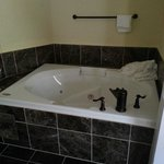 In room jacuzzi