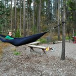 bring an Eno hammock and enjoy the fire pit!