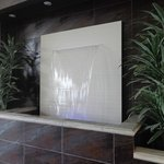 waterfall in lobby