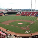 View of GABP from the press box