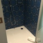 Shower - levelled to the room