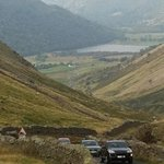 View from half-way up Kirkston Pass