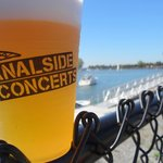 Concerts are great here, and the beer is okay, too