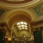 interior shot of the capitol