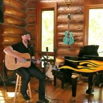 Steven Whitson playing for Tami & Judy