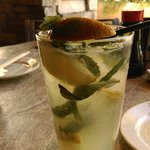 Mojito with old brown lime : (
