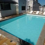 Pool on the rooftop at Copacabana Mar Hotel