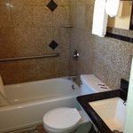 Double queen bedroom Bathroom
