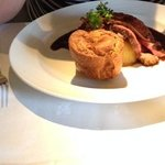 Roast beef Sunday lunch main