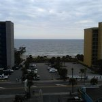 View from room 703, but all rooms are facing the ocean.