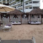Beach side beds
