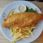 fish & chips (french fries)