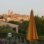 view of St Paul de Vence from hotel