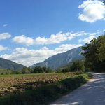 On the road to La Tavola Marche