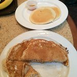 The pancakes you get when you just ask for pancakes (Top), and the pancakes you get when you ask