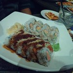 Crab Crunch Roll and Spicy Tuna Roll