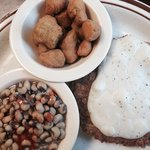 Fried country steak