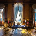 Miramare castle: the working room of Maximilian