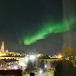 Northern Lights from our room!