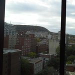 View from Pool Area to Mont Royal-