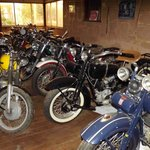 Veteran motor bike collection to drool over