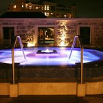 Alfresco Spa Pool by night