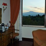 View of Mount Etna from suite