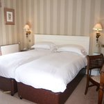 Bedroom 26 at West Lodge Park set as a classic twin