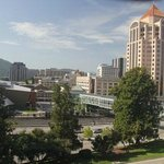 View of Roanoke from room 470