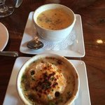 French Onion soup and Summer Squash Soup