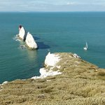 The Needles from the searchlight lookout