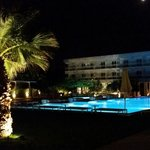 Pool by night.